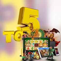 Top 5 des meilleurs casinos légaux français